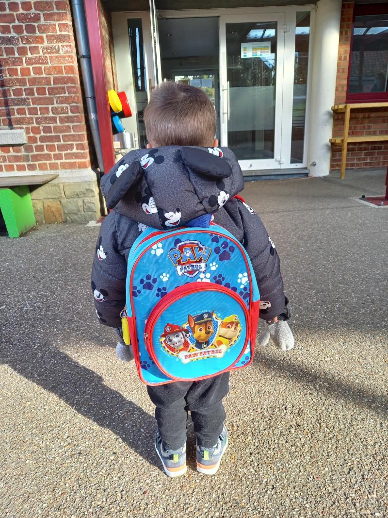 Voor het eerst naar school